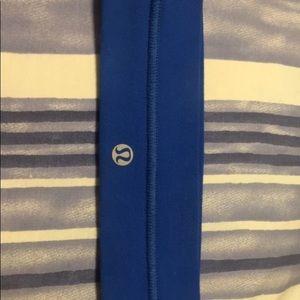 Blue Lululemon headband